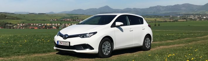 TEST Jazdenky Toyota Auris 1.4 D-4D 2. gen.