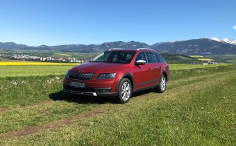 TEST Jazdenky Škoda Octavia Scout 2.0 TDI 3. gen.