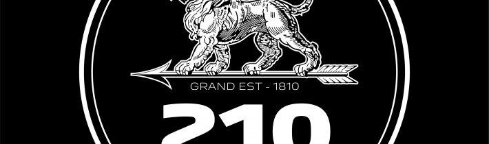 Peugeot 210. výročie logo