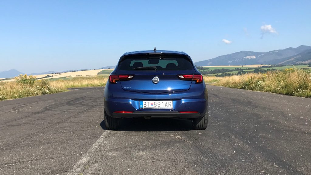 2020 Opel Astra K 1.2 Turbo Elegance test recenzia sk cz