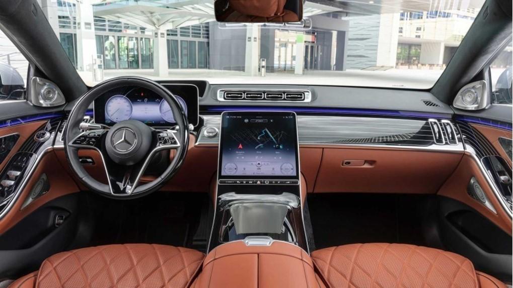 Mercedes-Benz triedy S 2020 interiér