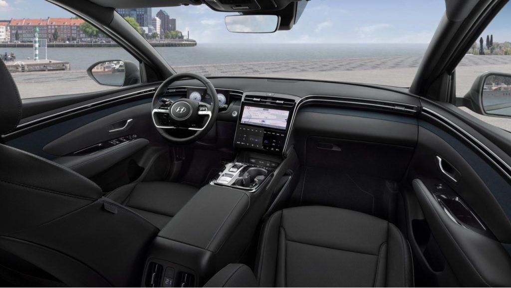 nový Hyundai Tucson 2020 interiér