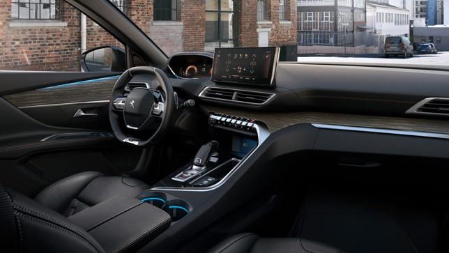 Nový Peugeot 5008 2020 facelift interiér
