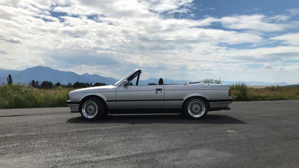 BMW 325i E30 Cabrio test recenzia skúsenosti
