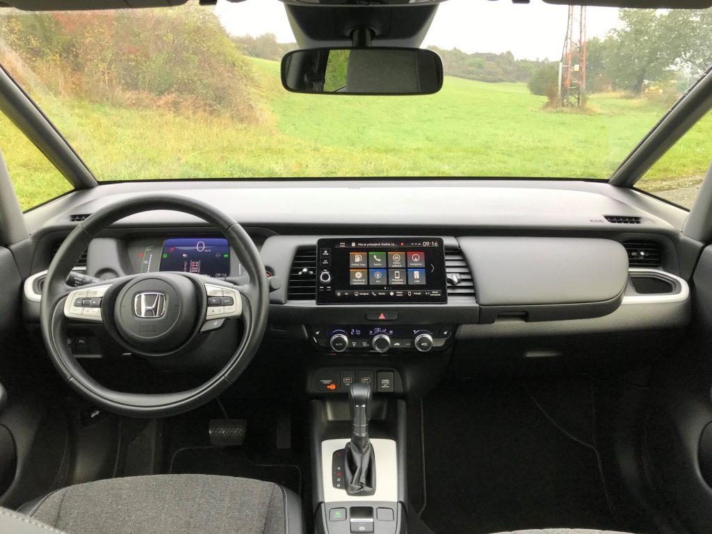 2020 Honda Jazz 1.5 i-mmd test recenzia skúsenosti interiér