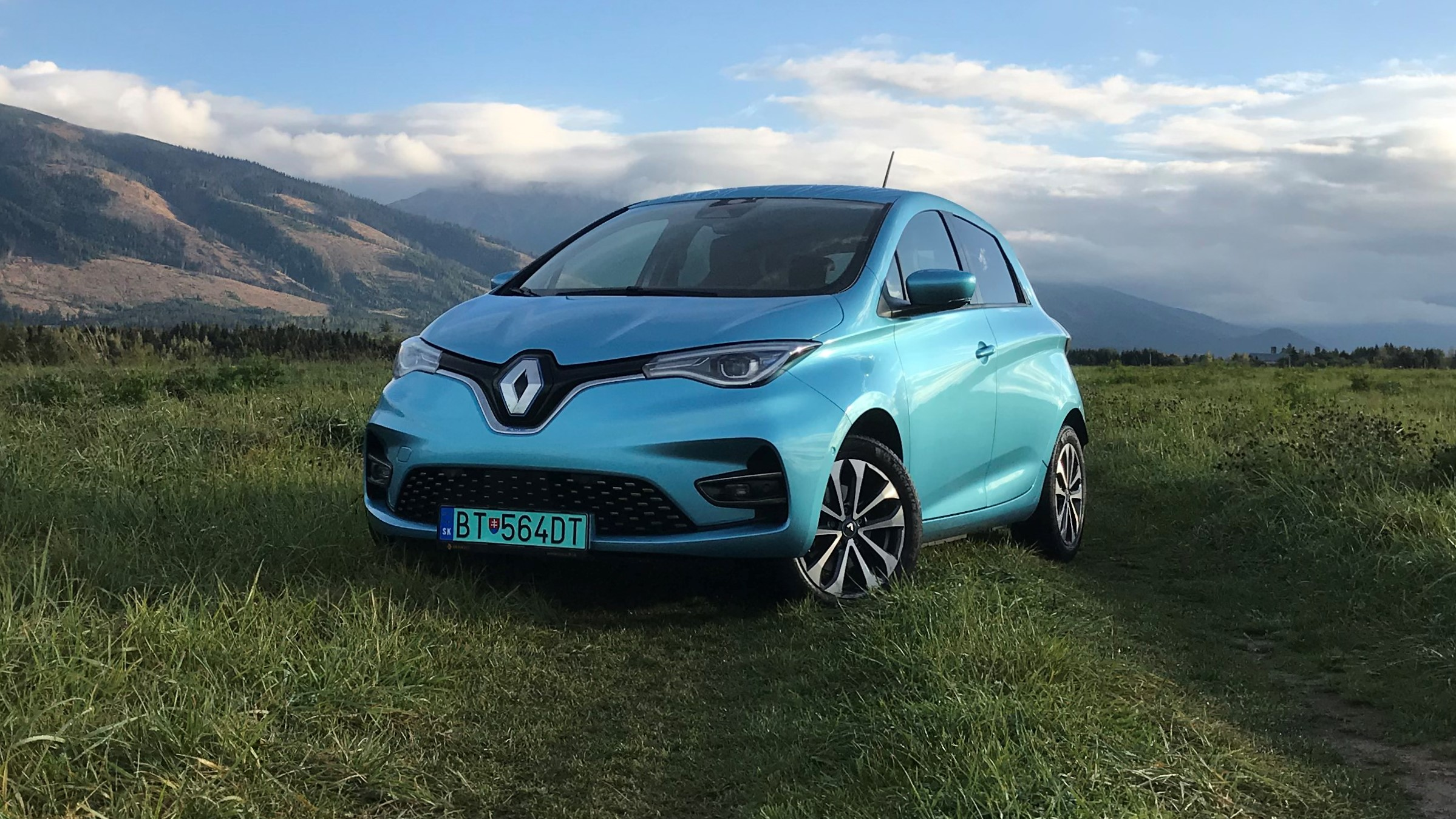 2020 Renault ZOE R135 Intens test recenzia skúsenosti