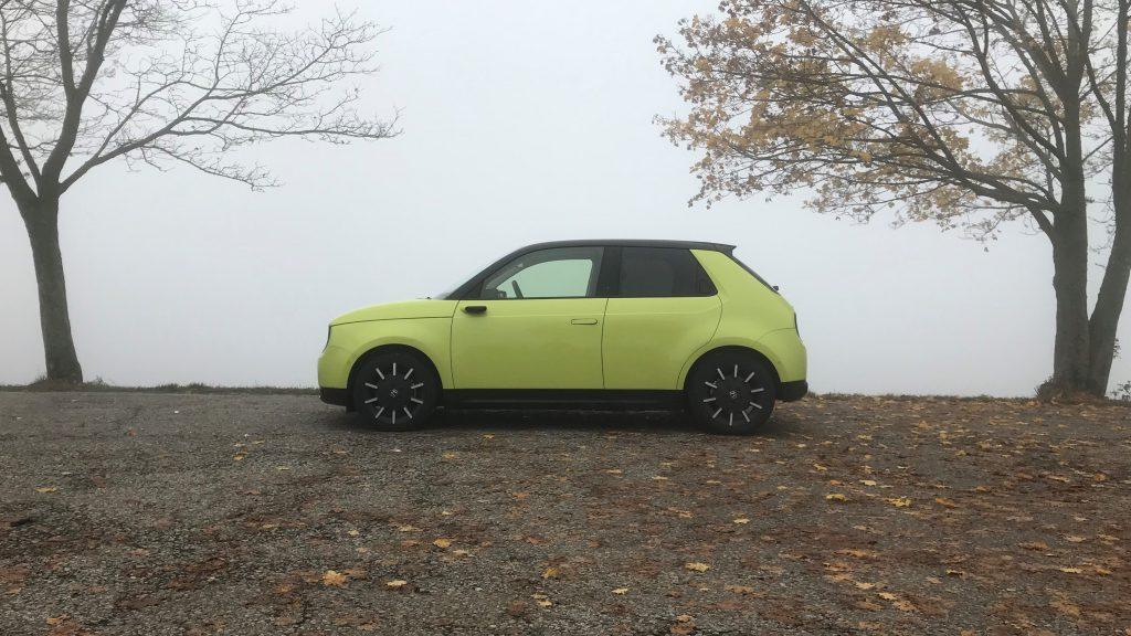 2020 Honda e Advance test recenzia skúsenosti