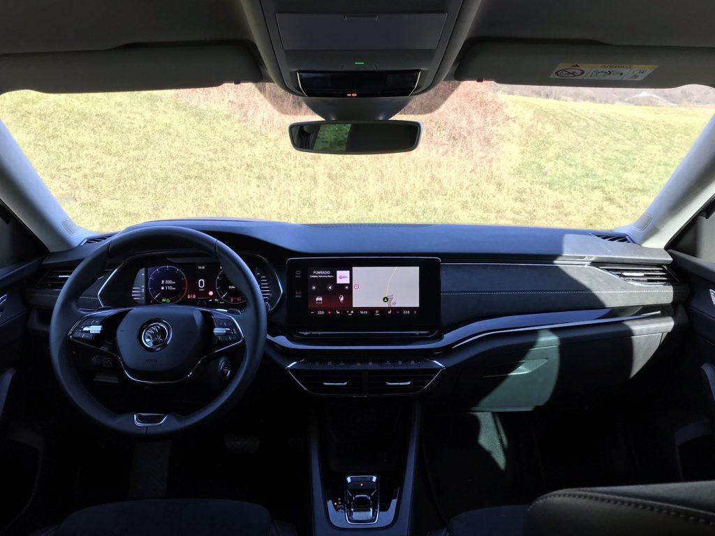 2020 Škoda Octavia Combi G-Tec Style 4. gen. test recenzia skúsenosti interiér