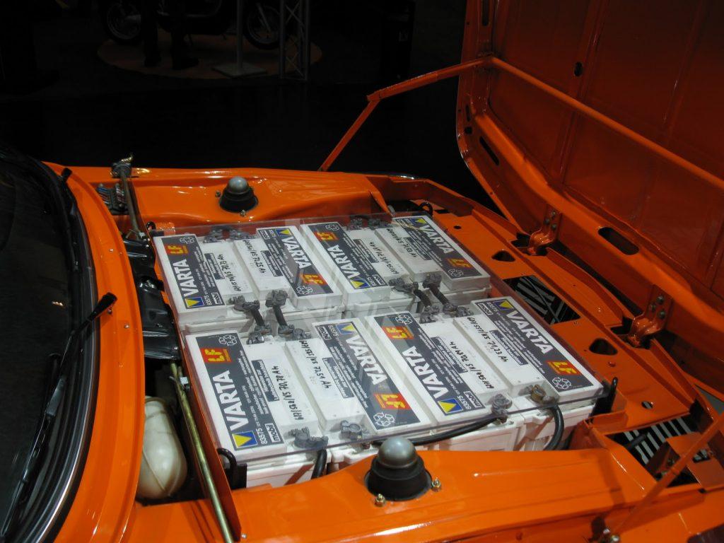 BMW 1602 Elektro-Antrieb