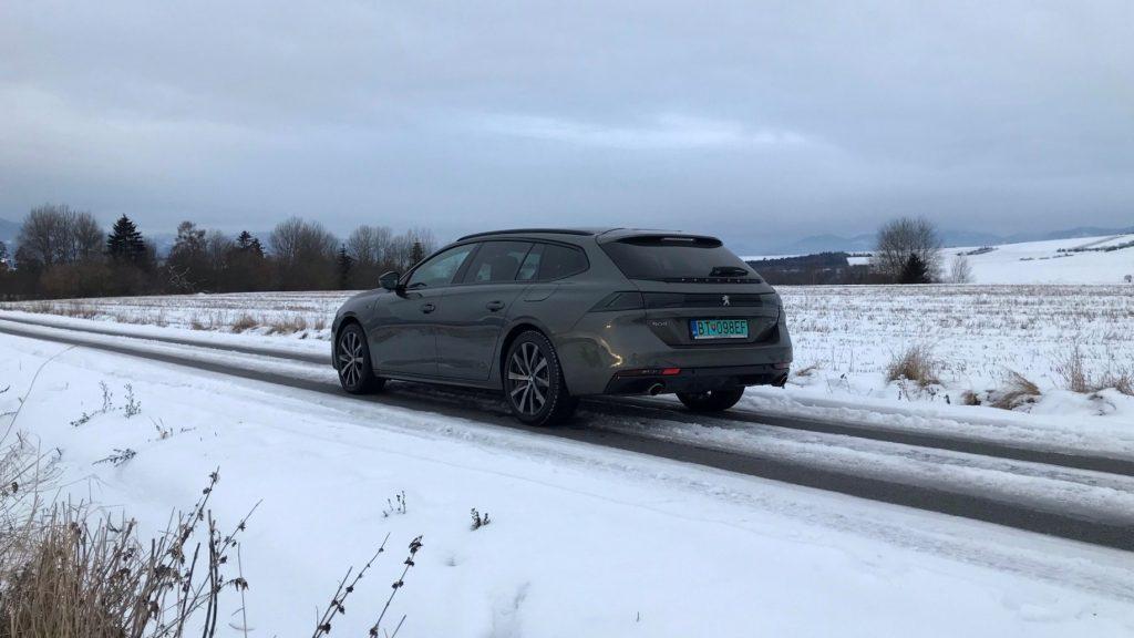 2021 Peugeot 508 SW plug-in hybrid test recenzia skúsenosti