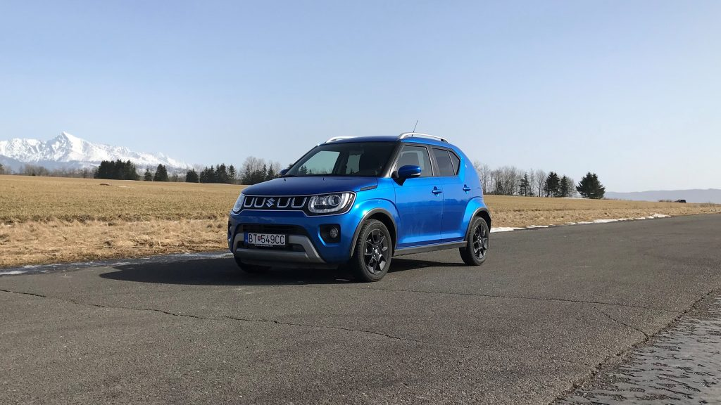 2021 Suzuki Ignis Hybrid GLX test recenzia skúsenosti