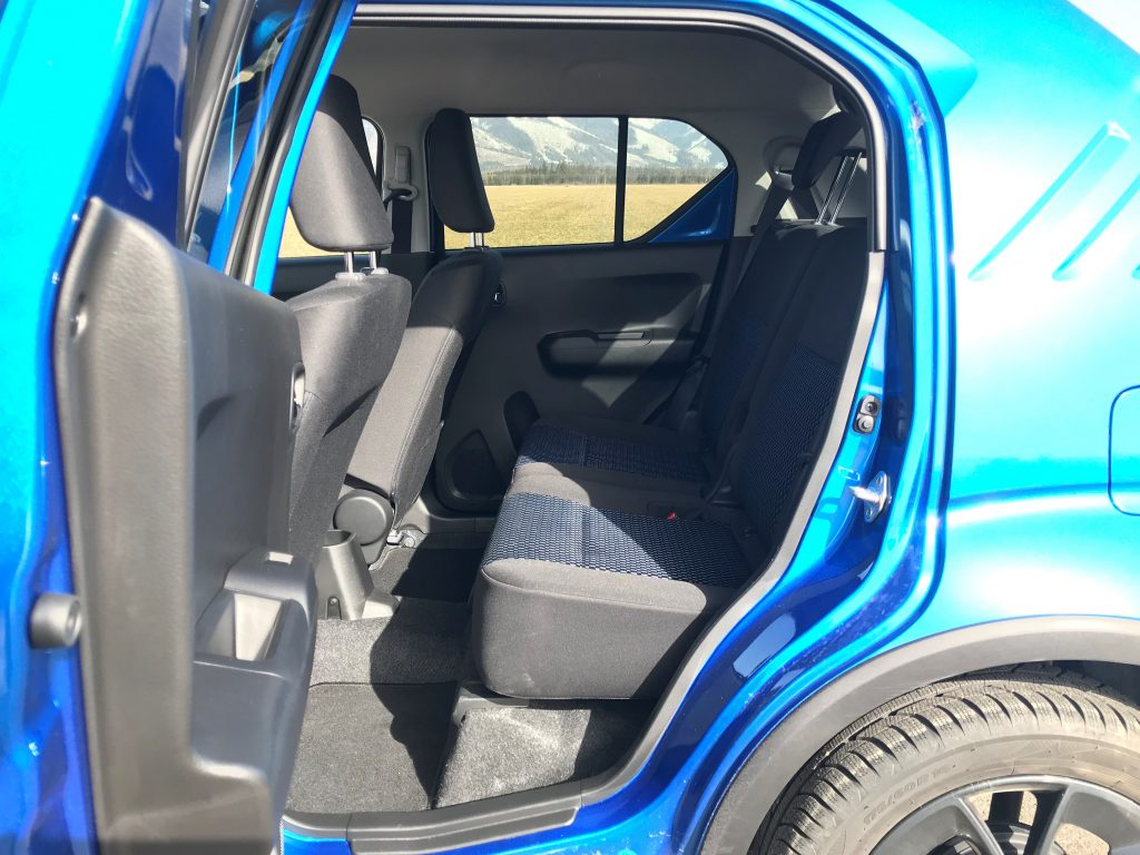 2021 Suzuki Ignis Hybrid GLX test recenzia skúsenosti interiér