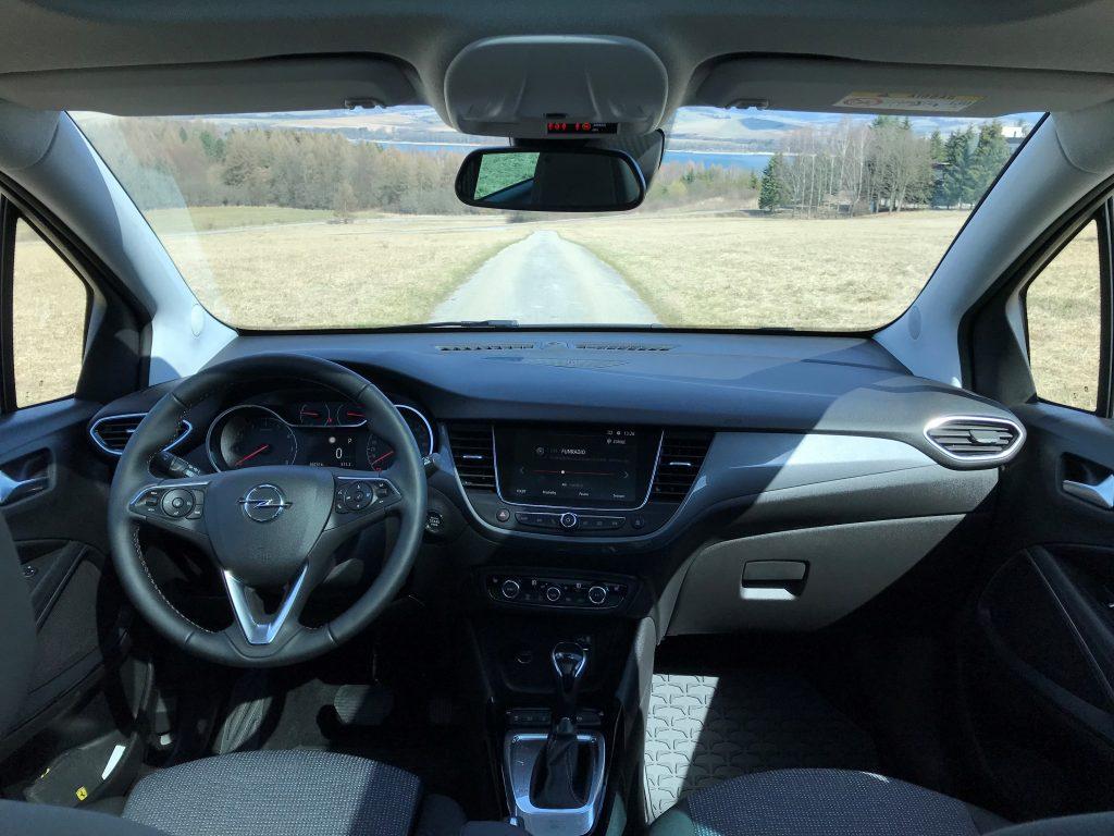 2021 Opel Crossland 1.5 CDTI Elegance test recenzia skúsenosti interiér