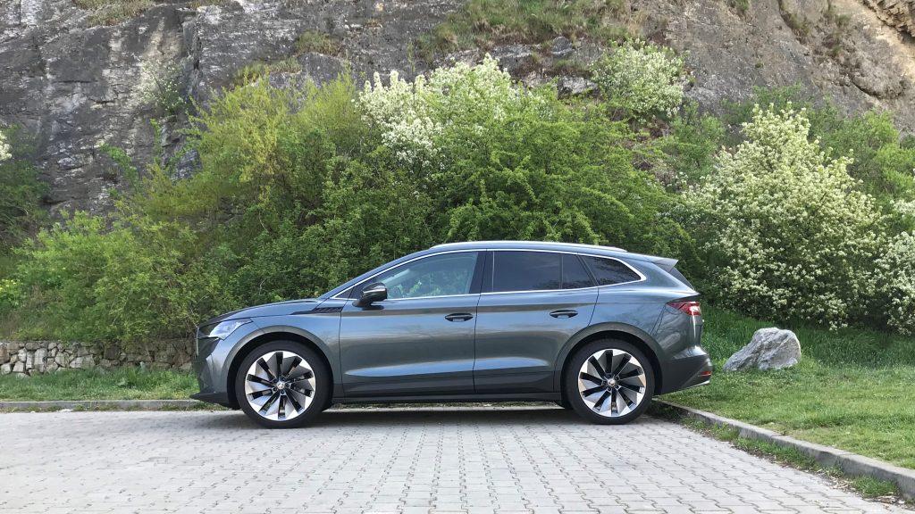 2021 Škoda Enyaq iV 80 test recenzia skúsenosti