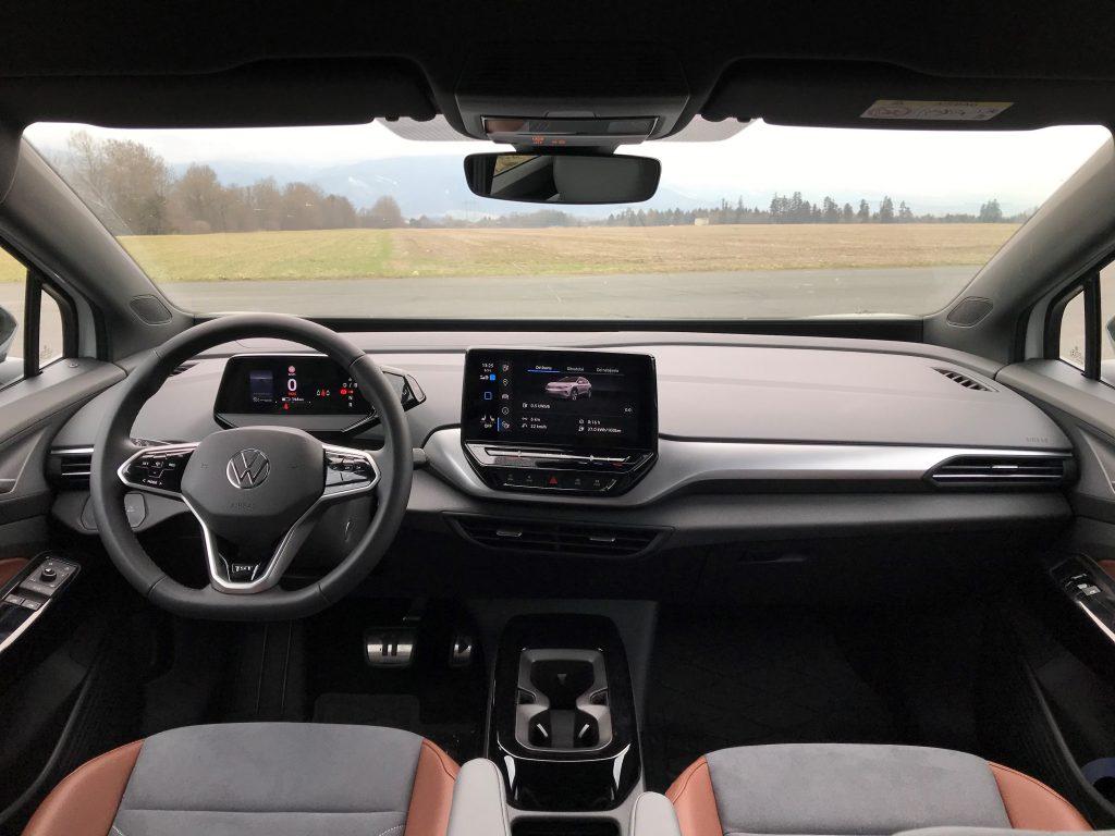 2021 Volkswagen ID.4 test recenzia skúsenosti interiér