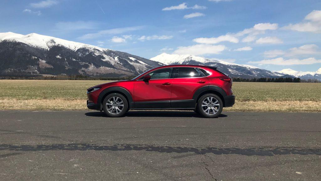 2021 Mazda CX-30 2.0 Skyactiv G150 Plus test recenzia skúsenosti