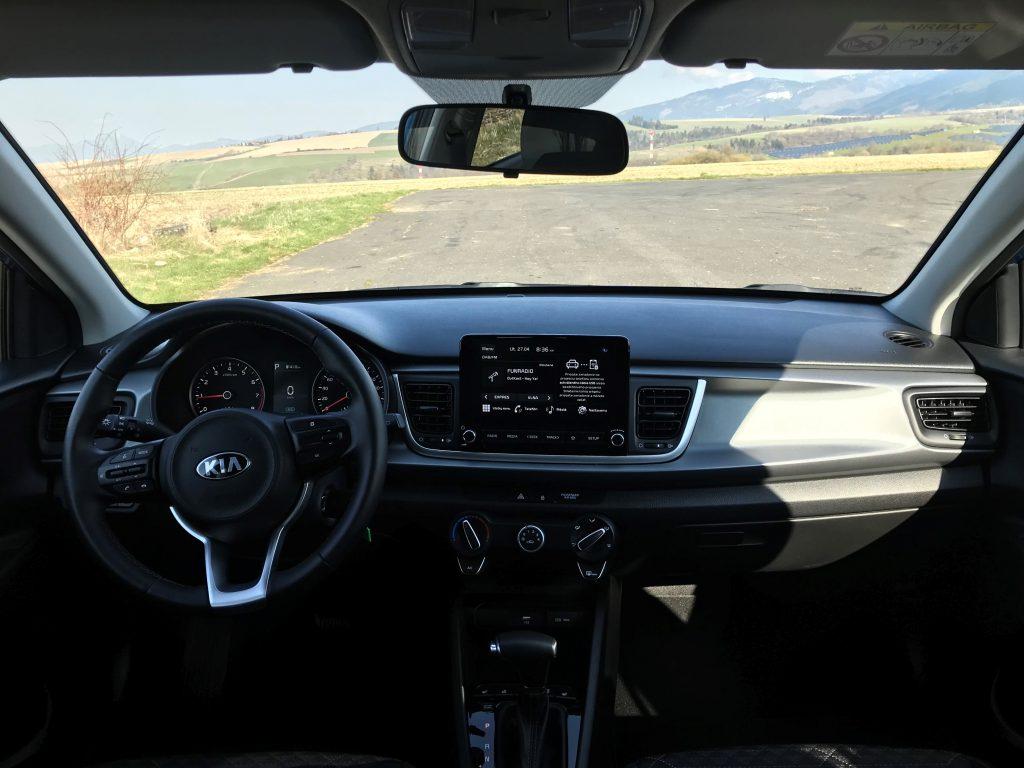 2021 Kia Rio 1.0 T-GDi Extra 7 DCT test recenzia skúsenosti interiér