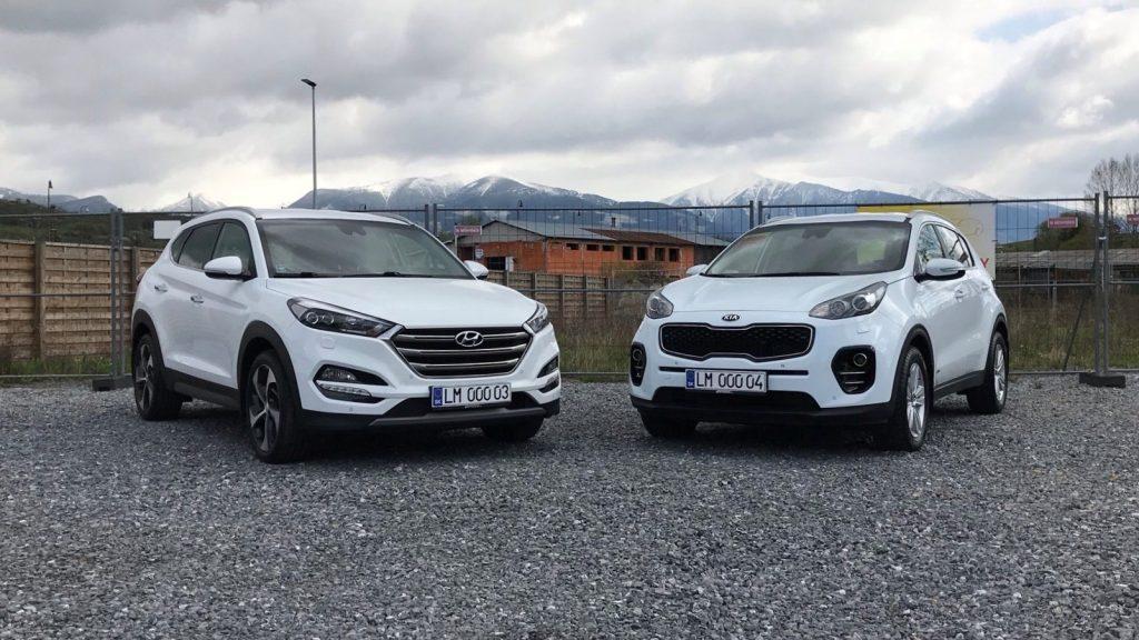 2017 Hyundai Tucson 2.0 CRDi VS 2018 KIA Sportage 2.0 CRDi test porovnanie recenzia