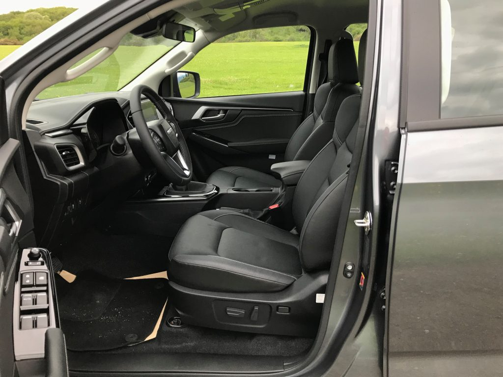2021 Isuzu D-MAX 1.9 D Double Cab LSE test recenzia skúsenosti interiér