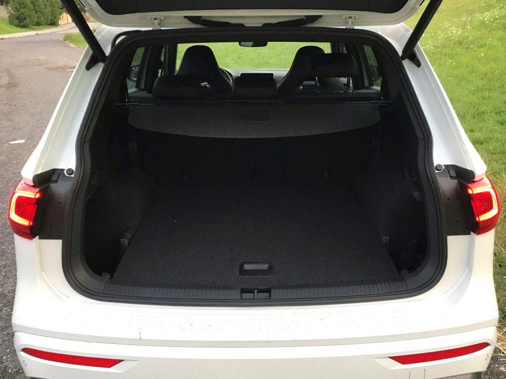 2021 Seat Tarraco 2.0 TSI DSG FR Family test recenzia skúsenosti kufor