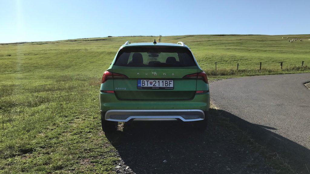 2021 Škoda Kamiq Scoutline 1.0 TSI DSG test recenzia skúsenosti
