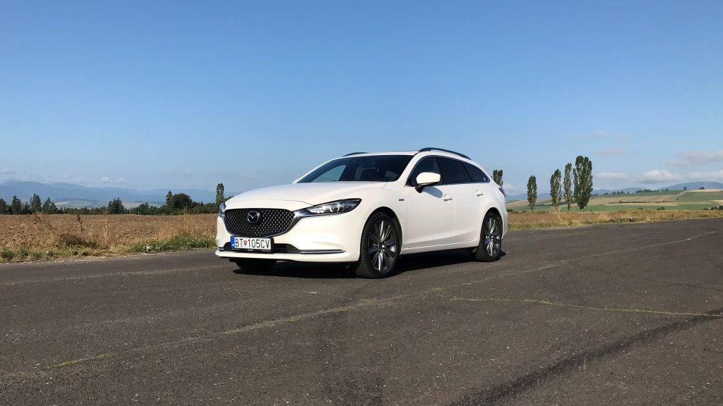 2021 Mazda 6 Wagon Skyactiv G194 Edition 100 test recenzia skúsenosti