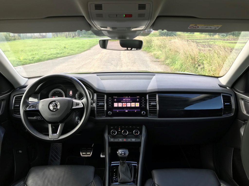 2019 Škoda Kodiaq 2.0 TDI 110 kW DSG test jazdenky recenzia skúsenosti interiér
