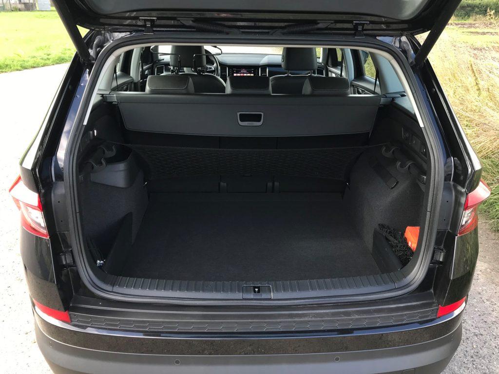 2019 Škoda Kodiaq 2.0 TDI 110 kW DSG test jazdenky recenzia skúsenosti kufor