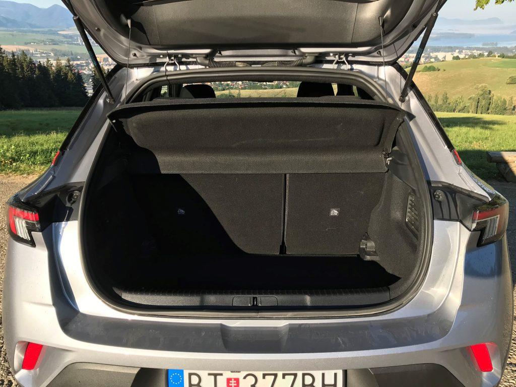 2021 Opel Mokka 1.2 Turbo test recenzia skúsenosti kufor