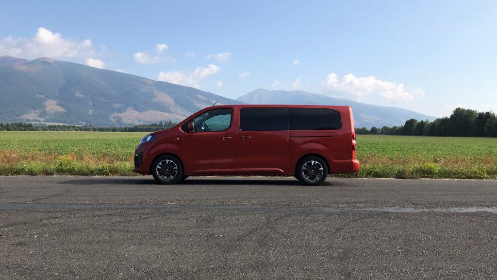 2021 Opel Zafira-e Life 75 kWh test recenzia skúsenosti dojazd